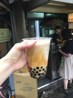 台北・陳三鼎黑糖青蛙鮮奶創始店