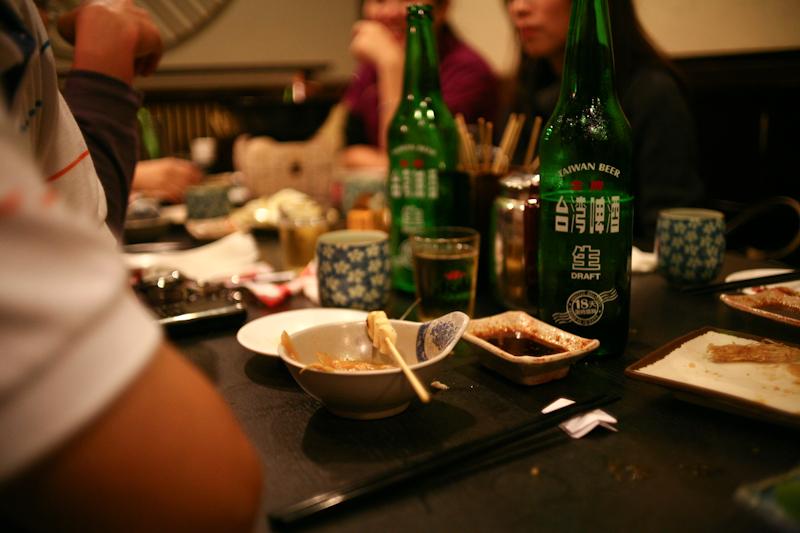 台湾式の居酒屋、熱炒(ラーチャオ)
